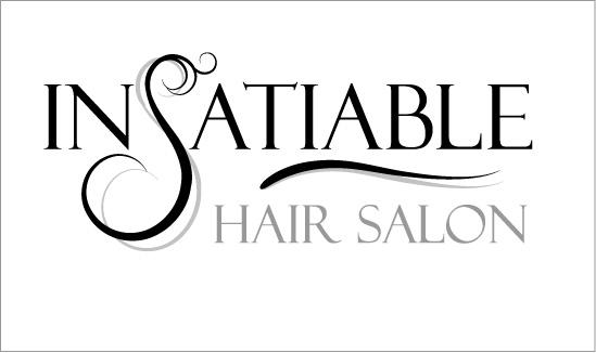InSatiable Hair Salon Logo Design